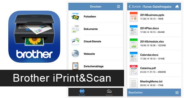Brother iPrint&Scan App: Vom iPhone drucken & scannen ...