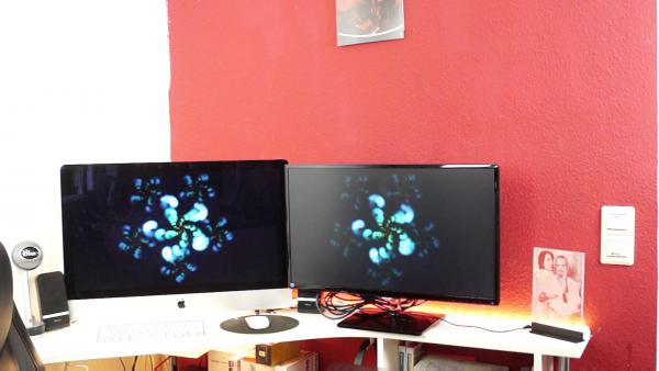 Zweiten Bildschirm am Mac / ©Mirko Drescher