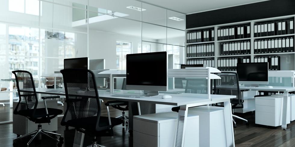 beleuchtung f r den arbeitsplatz professionell ausw hlen. Black Bedroom Furniture Sets. Home Design Ideas