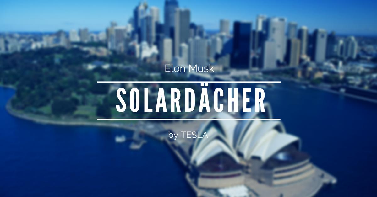 Elon Musk: Solardächer bald günstiger als herkömmliche Dächer