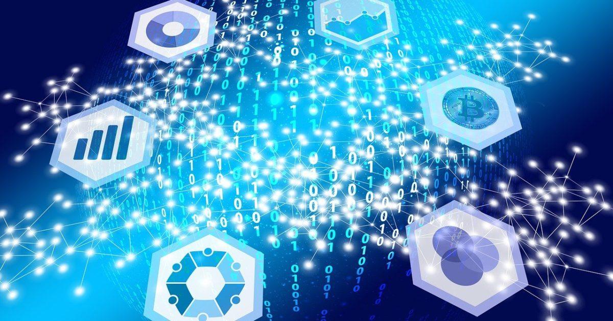 Anwendung von Blockchain